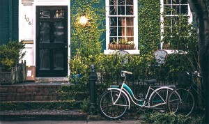 house door bike