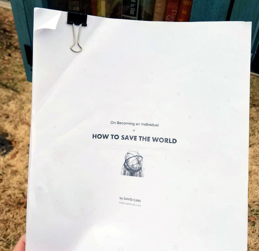 how to save the world ebook