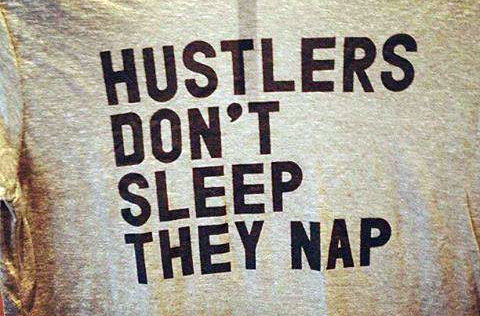 hustlers don't sleep shirt