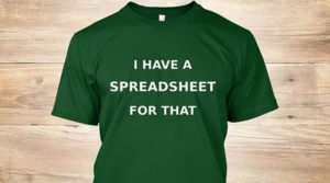 i have a spreadsheet for that