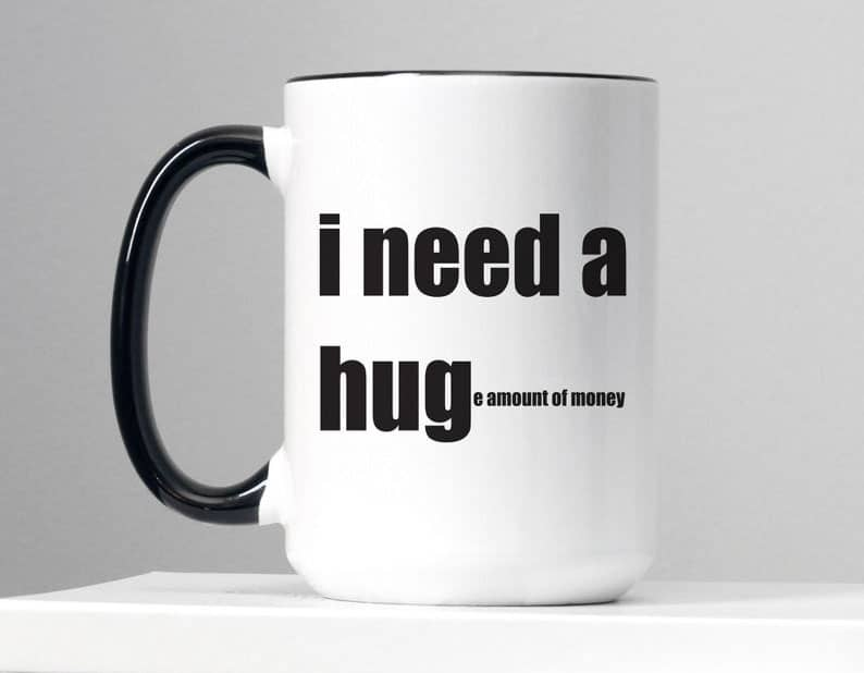 i need a hug mug