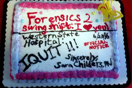 i quit cake