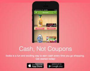 ibotta cash not coupons