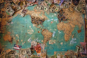 international money map