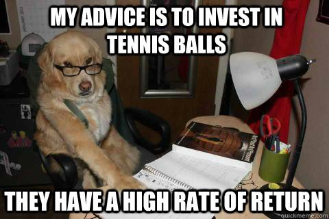 invest in tennis balls meme