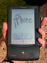 real iphone - newton