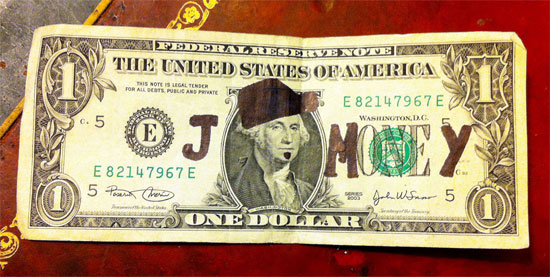 j money dollar