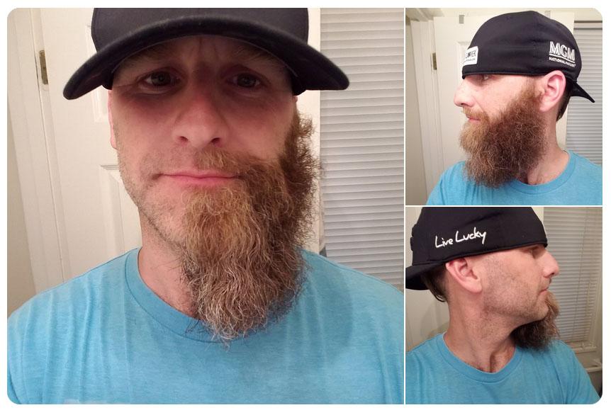 half beard