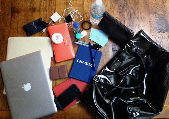 jean chatzky purse contents