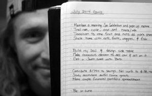 journal changed finances