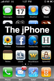 jPhone Screenshot