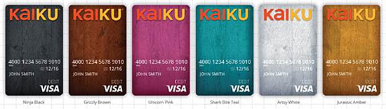 kaiku prepaid cards