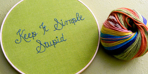 keep it simple stupid yarn