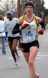 kim running coach