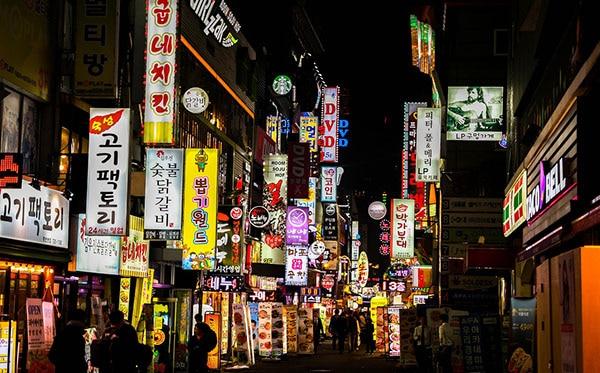 korean nightlife