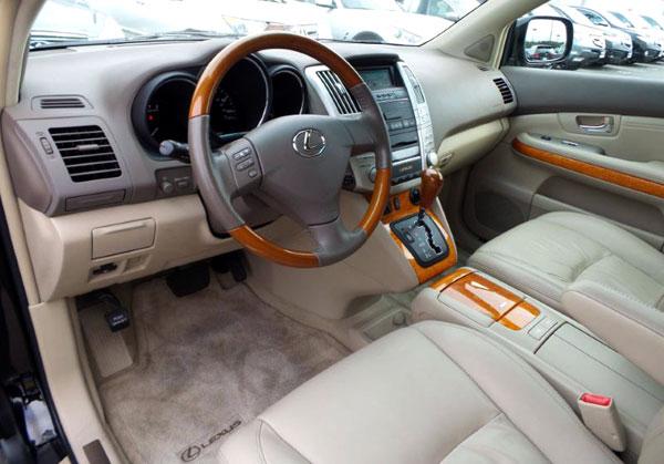 lexus rx350 inside