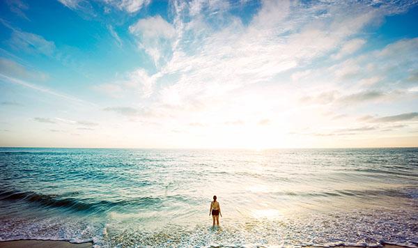 life pondering ocean