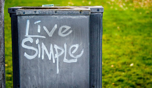 live simple