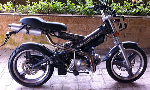 madass 125cc bike