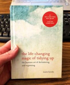 magic tidying up book