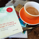 tidying up book & coffee