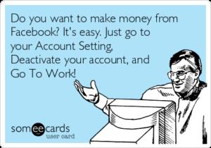 make money facebook