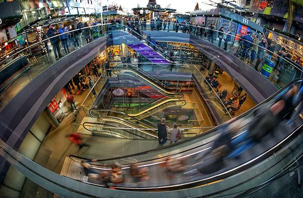 mall chaos