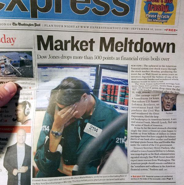 market meldown clipping - 2008