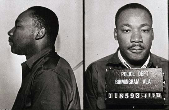 martin luther king jr mug shot