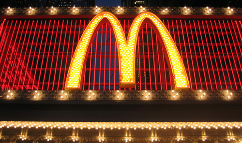 mcdonalds nyc sparkly