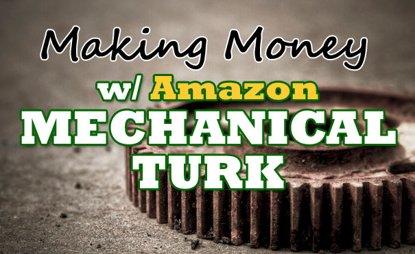 make money - mechanical turk