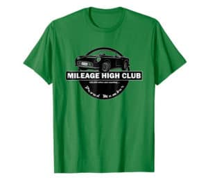 mileage high club shirt
