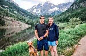 millennial boss hiking