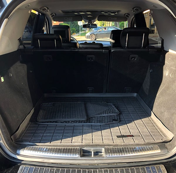 ml320 benz inside back