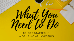 mobile home investing course