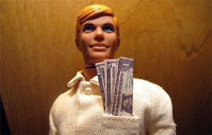 money doll