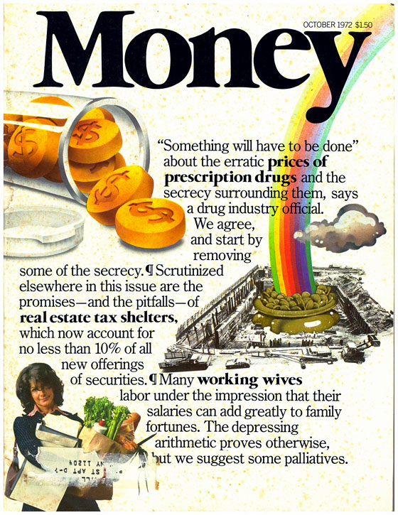 money magazine first edition issue!