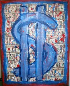 money money money art