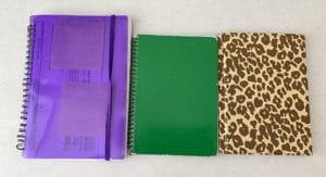 money notebooks