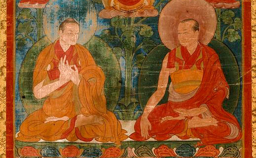 monk and minister