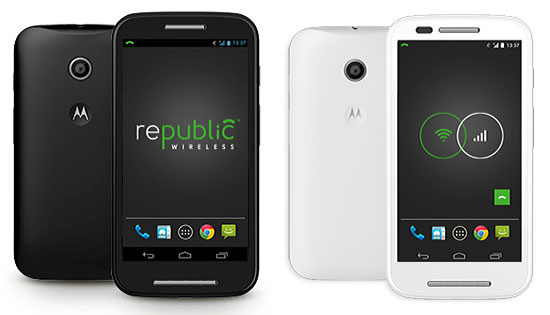 moto e republic wireless