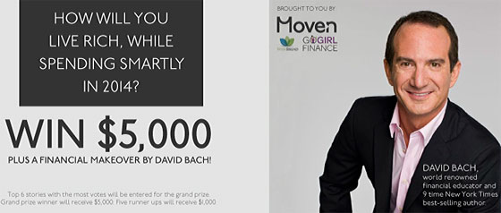moven david bach giveaway