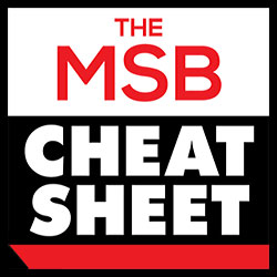 msb cheat sheet