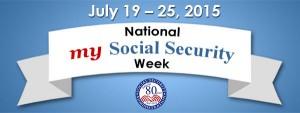 my social security week