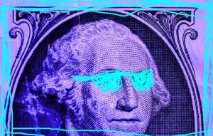 neon george washington