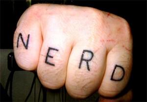 nerd fist bump