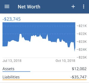 net worth sinks disabled