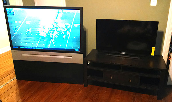 new tv vs old