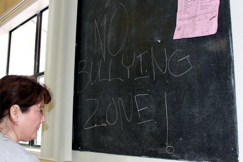 no bullying zone
