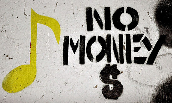 no money graffiti